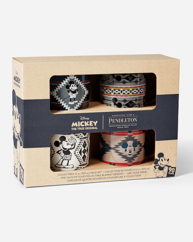 DISNEY'S MICKEY MOUSECOLLECTIBLE MUG SET, MULTI, large