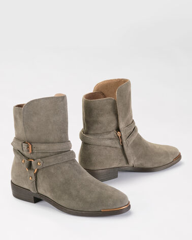 KELBY BOOTIES, GREY, large