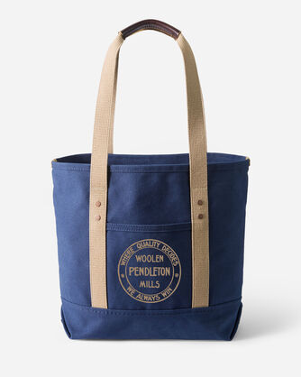 CANVAS TOTE IN NAVY