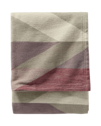 PIMA CANYON COTTON THROW, RED ROCK, large