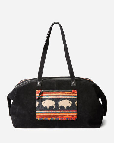 ADDITIONAL VIEW OF BIG MEDICINE WOOL WEEKENDER BAG IN BIG MEDICINE CHARCOAL