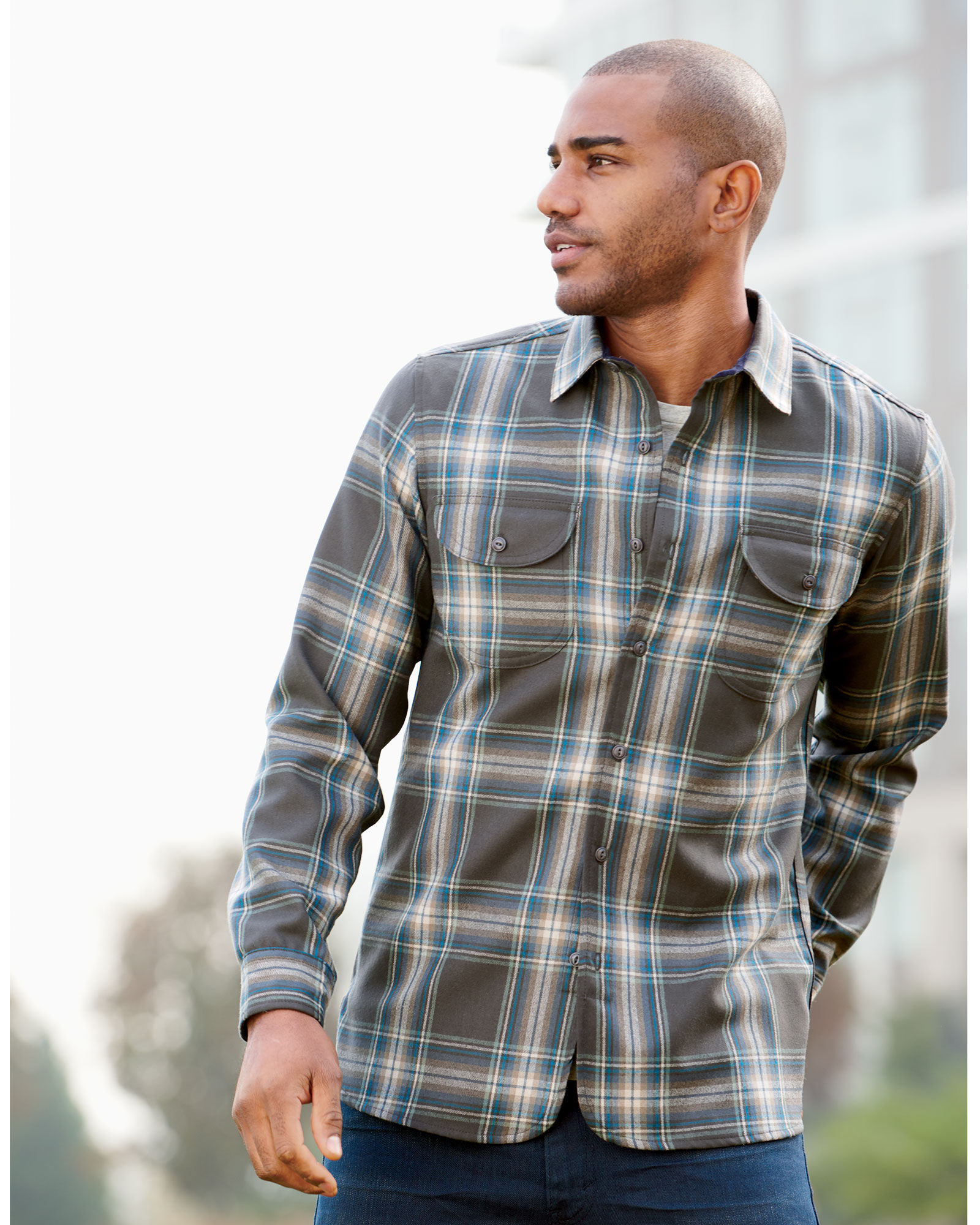 8e2e779b WORSTED FLANNEL FITTED BUCKLEY SHIRT | Pendleton