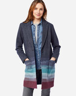 WOMEN'S SKYLINE WOOL JACKET IN NAVY SKYLINE JACQUARD