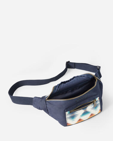 ALTERNATE VIEW OF FALCON COVE CANOPY CANVAS WAIST PACK IN OLIVE GREEN