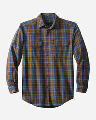 BRIDGER TWILL SHIRT, BLUE PLAID, large