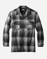 MEN'S BIG BOARD SHIRT IN CHARCOAL OMBRE