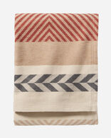 MOJAVE TWILL ORGANIC COTTON THROW IN CLAY