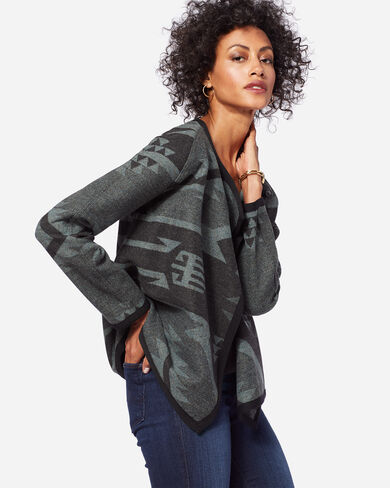 CARLY DESERT SKY WOOL JACKET