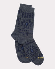 HARDING CREW SOCKS, GREY, large
