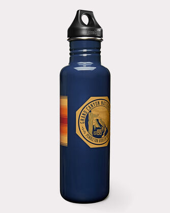 NATIONAL PARK WATER BOTTLE, GRAND CANYON(NAVY), large