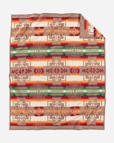 CHIEF JOSEPH BLANKET, TAN, large