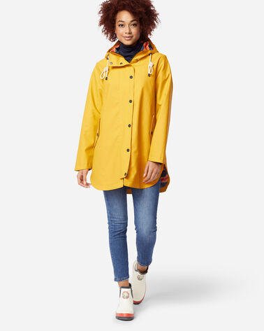 ADDITIONAL VIEW OF WOMEN'S NEWPORT WATERPROOF RAIN JACKET IN YELLOW