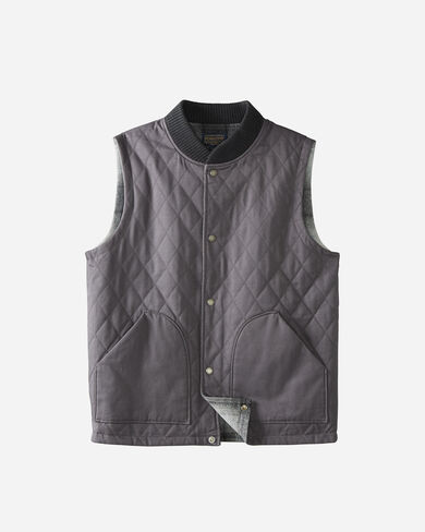 REVERSIBLE CANVAS VEST