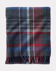 ASHTON PLAID LAMBSWOOL THROW