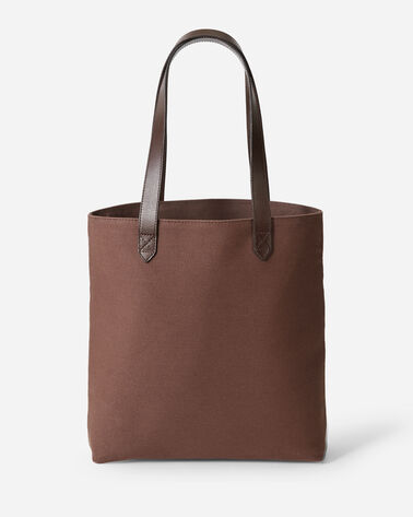 ALTERNATE VIEW OF SIERRA RIDGE MARKET TOTE IN BROWN