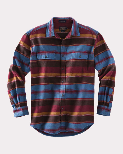 FITTED CAMBER STRIPE SHIRT