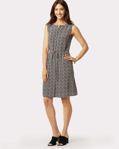MADRONA HERRINGBONE DRESS