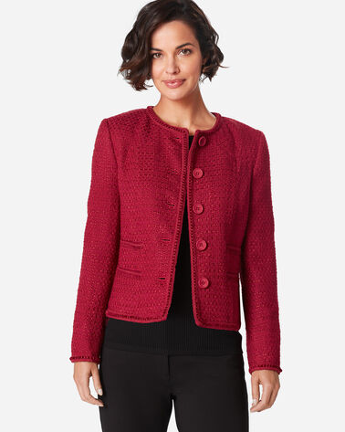 CLEO JACKET, RED ROCK, large