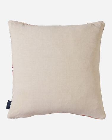 ALTERNATE VIEW OF HARDING PRINTED KILIM SQUARE PILLOW IN TAUPE