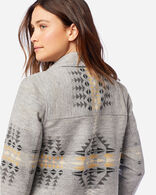 WOMEN'S JACQUARD BARN JACKET IN RANCHO ARROYO GREY