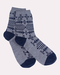 THUNDER QUARREL ANKLET SOCKS, GREY, large