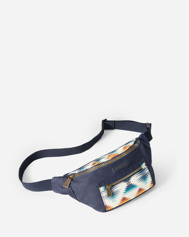 FALCON COVE CANOPY CANVAS WAIST PACK IN OLIVE GREEN