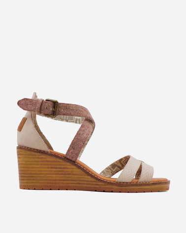 WOMEN'S BAYLANDS STRAPPY WEDGES IN FEATHER
