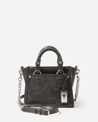 DEMI MINI SATCHEL, BLACK, large