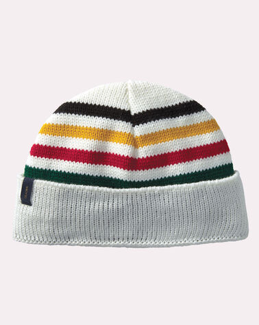 NATIONAL PARK SCRIPT BEANIE, GLACIER STRIPE, large