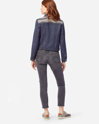 ALTERNATE VIEW OF WOMEN'S RYDER WOOL JACKET IN CRESCENT BAY NAVY