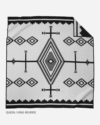 LOS OJOS BLANKET QUEEN AND KING SIZE BACK VIEW
