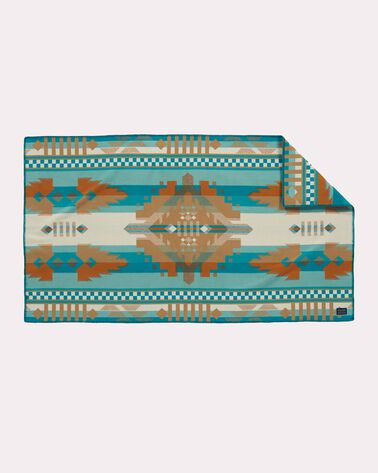 MESQUITE CANYON SADDLE BLANKET, AQUA, large