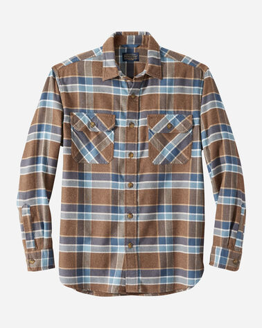BURNSIDE DOUBLE-BRUSHED FLANNEL SHIRT