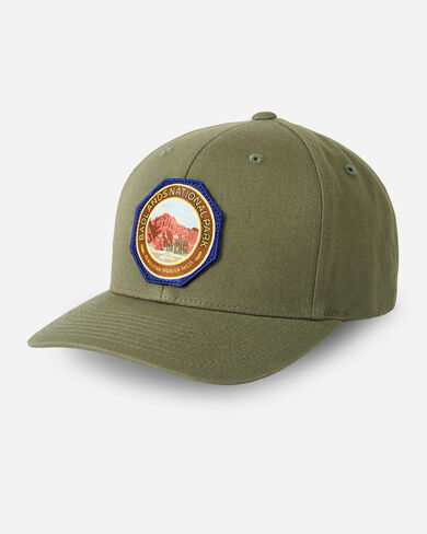 NATIONAL PARK HAT IN ARMY GREEN BADLANDS