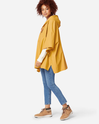 ADDITIONAL VIEW OF RAIN PONCHO IN GOLDENROD