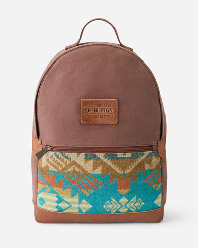 JOURNEY WEST CANVAS BACKPACK