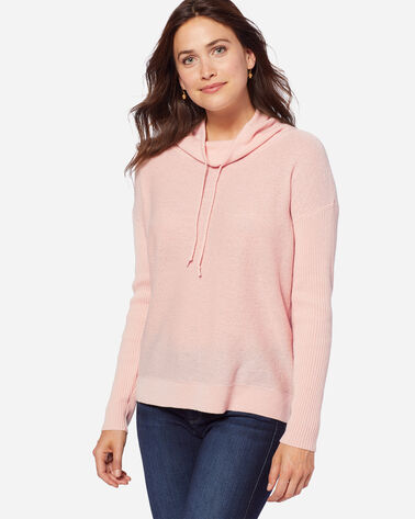 CASHMERE WEEKEND PULLOVER, SOFT PINK, large