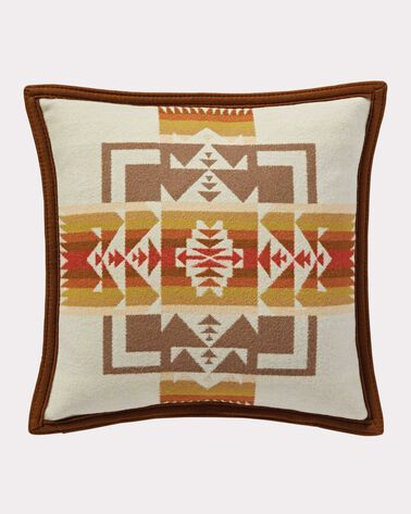 CHIEF JOSEPH PILLOW, WHEAT, large