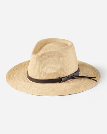 SAFARI STRAW HAT IN NATURAL STRAW