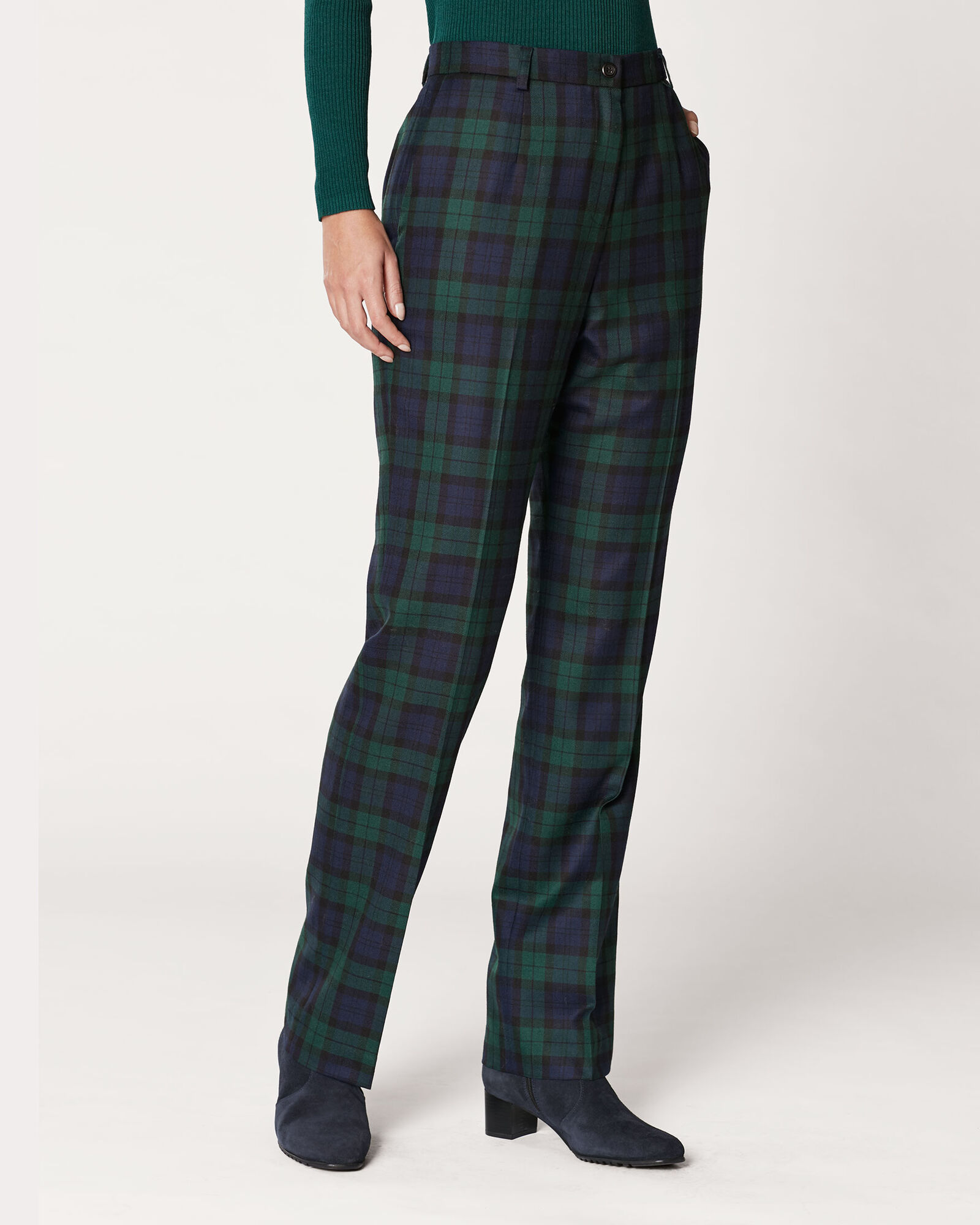 Black Watch True Fit Trousers Pendleton
