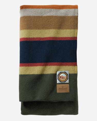BADLANDS NATIONAL PARK BLANKET, OLIVE, large