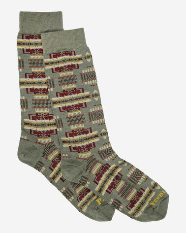 CHIEF JOSEPH CREW SOCKS, SAGE, large
