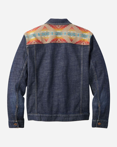 ALTERNATE VIEW OF MEN'S SIERRA RIDGE DENIM RYDER JACKET IN DENIM