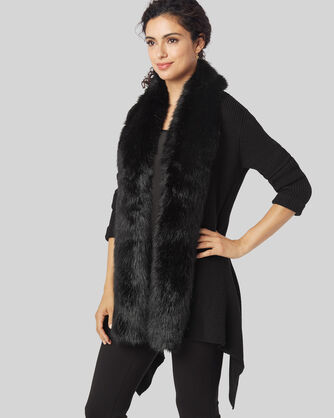 RICKY CARDIGAN, BLACK, large
