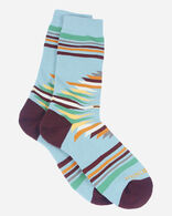 FALCON COVE CREW SOCKS IN AQUA