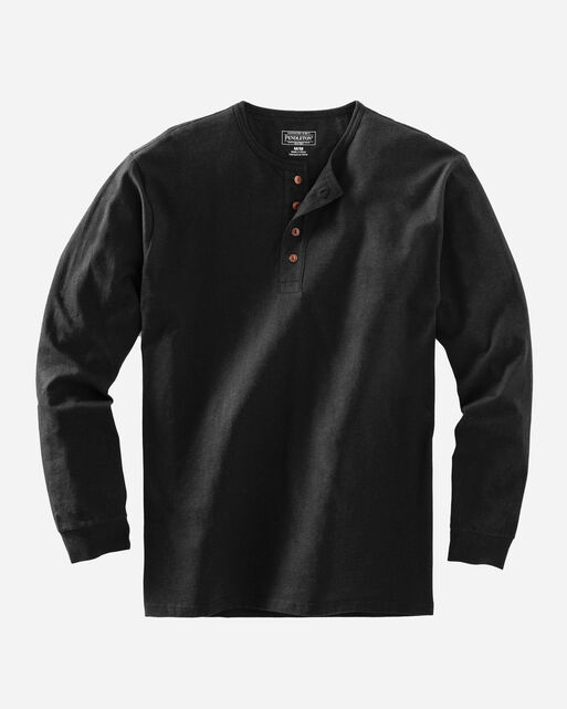 DESCHUTES HENLEY, BLACK, large
