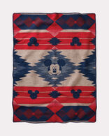 DISNEY'S MICKEY'S FRONTIER KIDS' BLANKET, RED/BLUE, large
