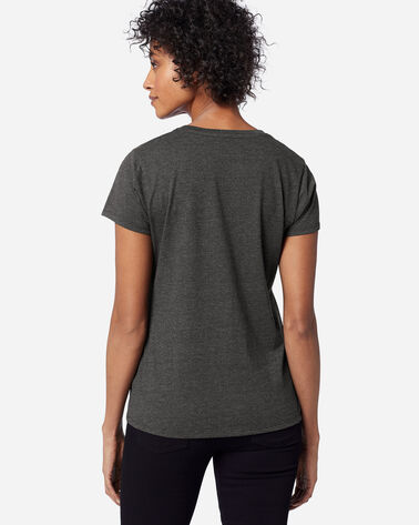ADDITIONAL VIEW OF WOMEN'S NATIONAL PARK STRIPE TEE IN GRAND CANYON CHARCOAL