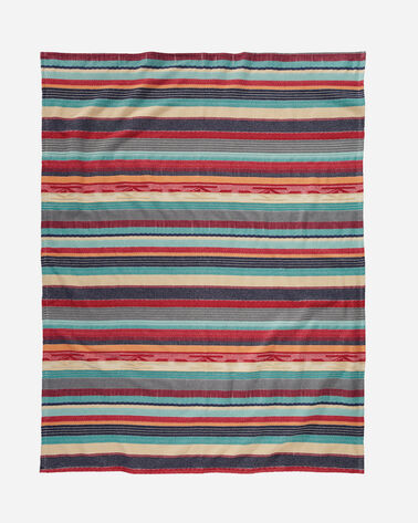 CHIMAYO STRIPE COTTON BLANKET