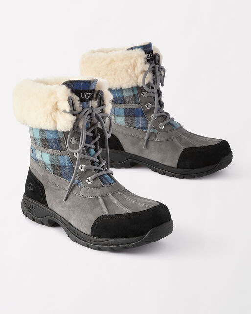 SURF PLAID BUTTE BOOTS